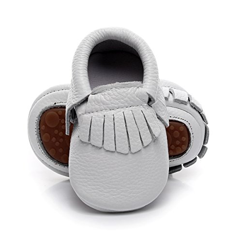 Top baby moccasins rubber sole for 2019