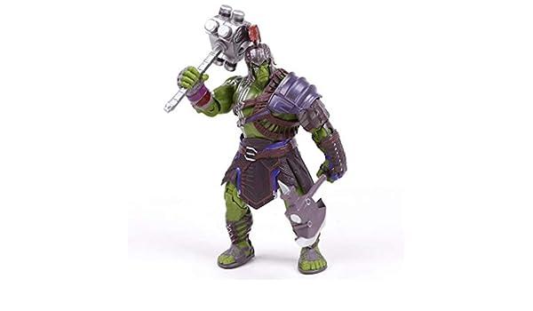 EASTVAPS Juguete Thor Hulk Armor Joints Figura móvil Modelo ...