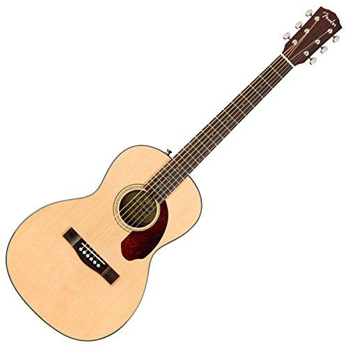 (Fender CP-140SE Acoustic-Electric Guitar with Case - Parlor Body Style - Natural)