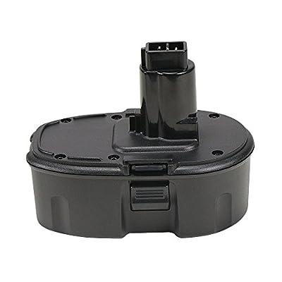 POWERU 18V 1.5Ah Ni-CD Replacement Battery for Dewalt DC9096 DC9098 DC9099 DW9096 DE9039 DE9095 DE9096 DE9098 DW9095 DW9098 DE9503
