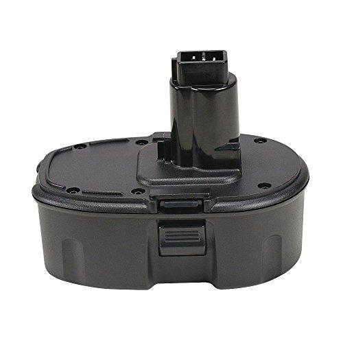 (POWERU 18V 1.5Ah Ni-CD Replacement Battery for Dewalt DC9096 DC9098 DC9099 DW9096 DE9039 DE9095 DE9096 DE9098 DW9095 DW9098 DE9503)