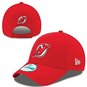 New Era New Jersey Devils The League Adjustable NHL Cap  Amazon.co ... 95156dde5a84