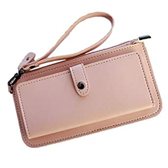 4152587ee8e Pink Girls Envelope/Women Wallet patternPU Leather Wallet Long Ladies  Clutch Coin Purse Ms clutch