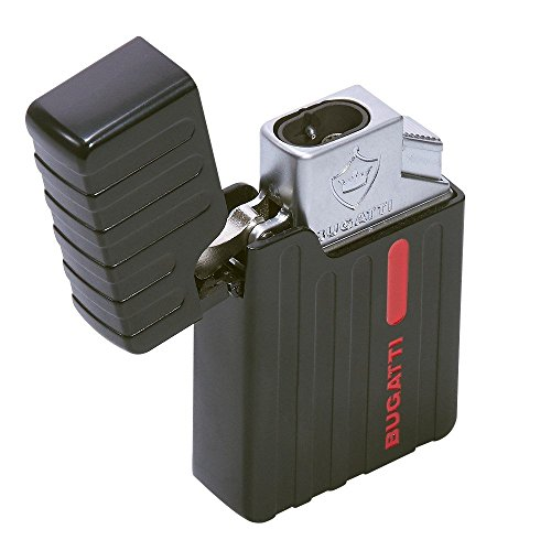 Bugatti BL4 BL400 Double Flame Windproof Torch Cigar Lighter 8mm (Double Flame Lighter)