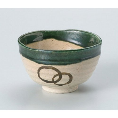 Matcha bowl Oribe well Matcha bowl [13 x 7.5cm (450cc)] Tsuchimono strengthening Japanese instrument Liquor restaurant for hotel business by Crockery Honpo