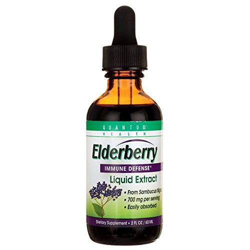 Quantum Elderberry Extract (Quantum Elderberry  Liquid Extract , 2 Fl Ozs.)