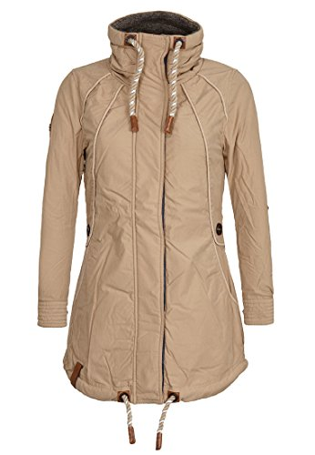Naketano Women's Jacket Tanaka Sand, M by Naketano
