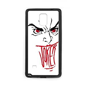Samsung Galaxy Note 4 Cell Phone Case Black_Smile Joker Euhoo