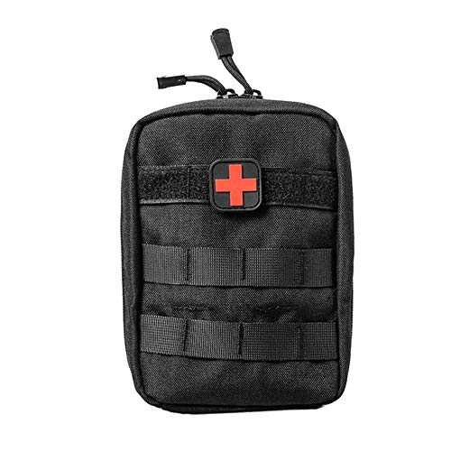 Yuan Ou Trousse de Secours Pouch Travel Green First Aid Kit Military Kit Medical Quick Pack 1