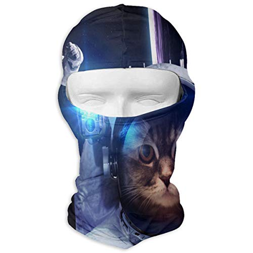 Balaclava Astronaut Cat Full Face Masks Ski Headwear Motorcycle Hood For Cycling Sports Hiking
