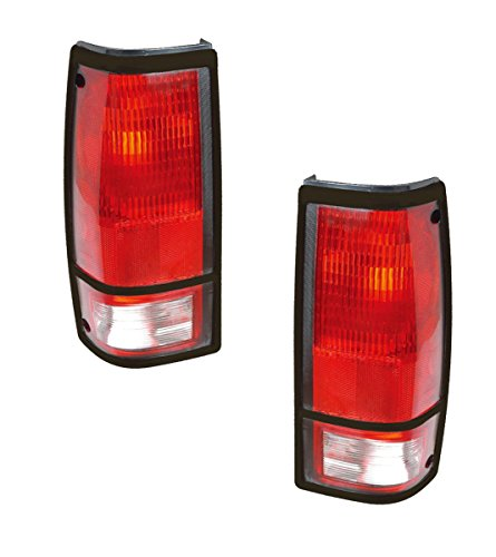 Chevrolet S10 Tail Lights - Left & Right Rear / back Tail Lamps W/o