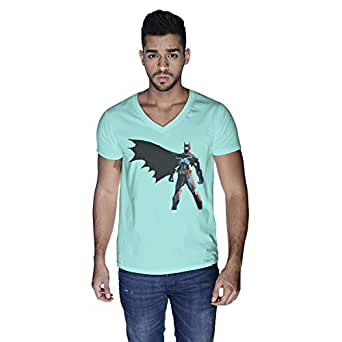 Creo Batman Super Hero T-Shirt For Men - Xl, Green