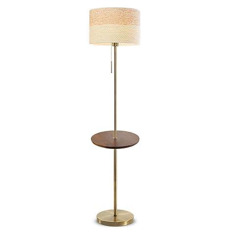 LXJ Lámpara de pie estándar Lámpara de pie de Almacenamiento ...