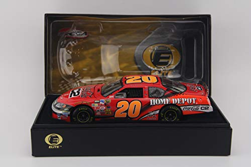 (RCCA Tony Stewart #20 Home Depot Coca-Cola C2 2004 Elite 1/24 Scale Nascar Diecast)