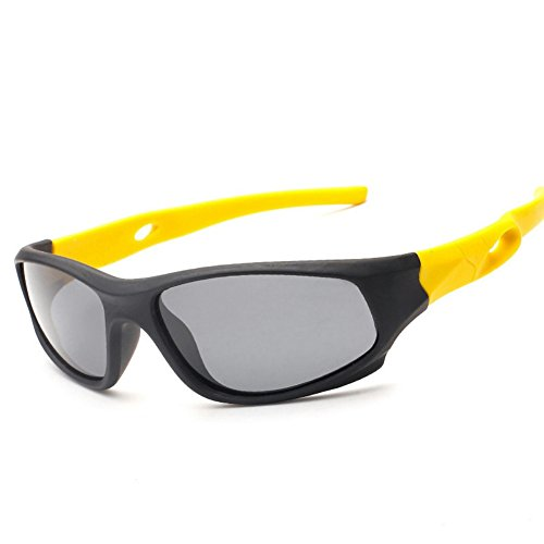 LENSTAR DSG800025C1 Fashionable Hard TAC Polarized Lens Fashion TR90 Frames - Stoudemire Goggles