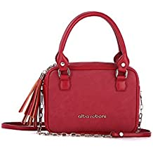 Alba Soboni Designed Women's PU Leather Clutch Ladies Small Girl's Cross Body Bag