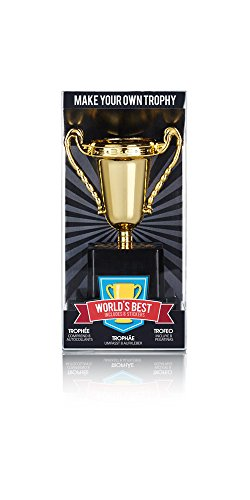 NPW Make Your Own Office Trophy Kit with Stickers W16802