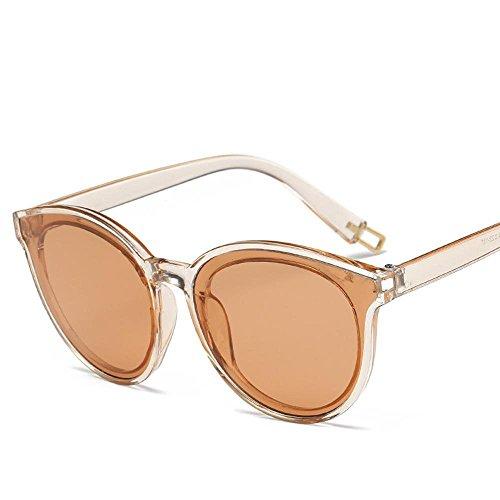 Aoligei Cadre européen crâne grande lunettes de soleil lunettes lunettes de soleil hommes et femmes K7KbGRu