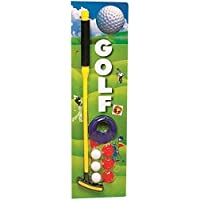 HALO NATION® Golf Set for Kids & Adults Too - Realistic Golf Game Set for Both Indoor & Outdoor use