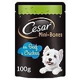 Cesar Mini-Bones Dog Treats Beef & Chicken 75g