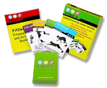 Fitdeck Kids Exercise Playing Cards for  - Fun Center Playground Equipment Shopping Results