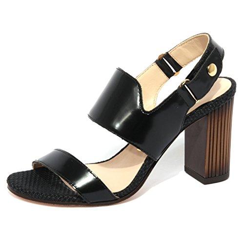 UNISA B1154 Sandalo Donna Venecia Scarpa Nero Shoe Woman [35]
