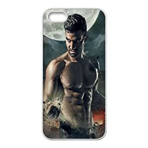 iPhone 5 5s Cell Phone Case White Wolf struck Iiudf
