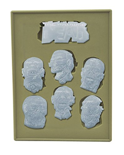 Diamond Select Toys The Walking Dead: Zombie Heads Silicone Tray