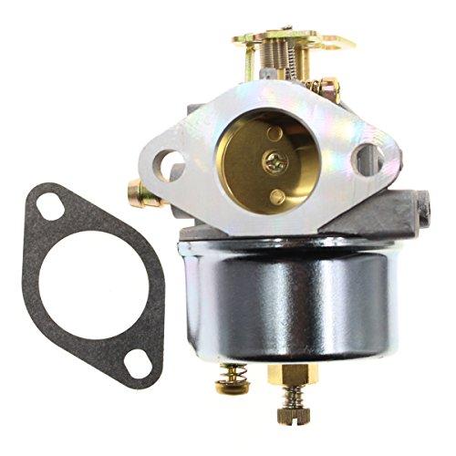 Carbhub Carburetor for Tecumseh 640349 640052 640054 640058 640058A HMSK80 HMSK85 HMSK90 HMSK100 HSMK110 LH318A LH358SA 8HP 9HP 10HP Snowblower Generator Chipper Shredder (Snowblower Replacement)