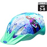 Bell-Sports-Disney-Frozen-Self-Adjust-Bike-Helmet-Child-Stylish-Safe-And-Cool-For-Kids-5-to-8-years-Aqua-Blue