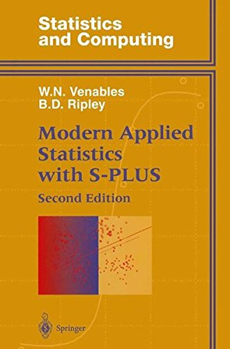 Modern Applied Statistics With S-Plus (Statistics and Computing) by Springer-Verlag