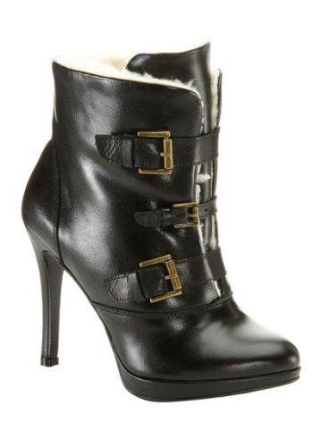 CHILLANY Women's Stiefelette Boots Noir - Noir iahDEgh