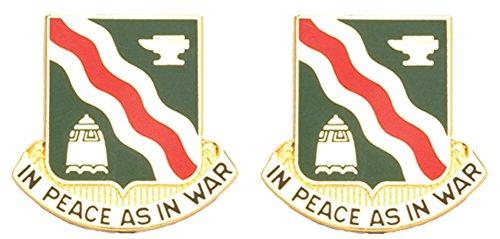 (728th MP BATTALION Distinctive Unit Insignia - Pair )