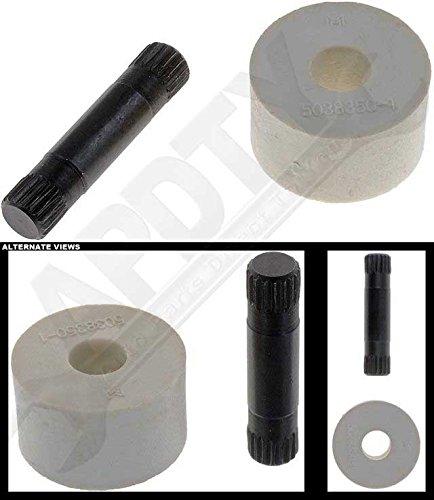 APDTY 49461 Door Hinge Roller Kit