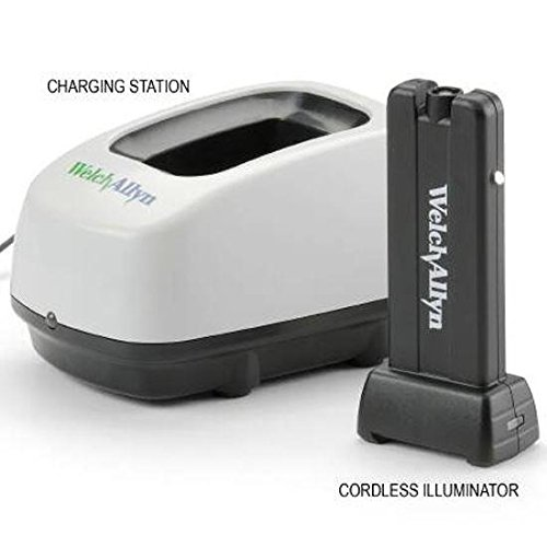 Welch Allyn 79920 Complete KleenSpec Cordless Illuminator with Charging Station and Auxiliary Power Cord