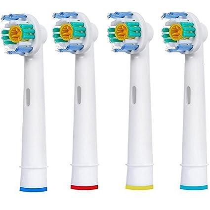 Generic cabezales para cepillo de dientes eléctrico 3d blanco para cepillos eléctricos Oral-B Braun
