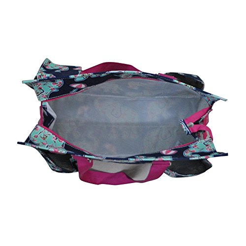 2017 Blue Medium Utility Gil 3 Epn All New N Navy Organizer Pattern Purpose Tote Bag Elephant Spring dxIawzq