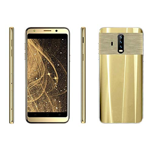 Matoen New 5.5 inch Dual HD Camera Android 5.1 512M+4G GPS 3G Call Mobile Phone US Smartphone (Gold) by Matoen (Image #1)