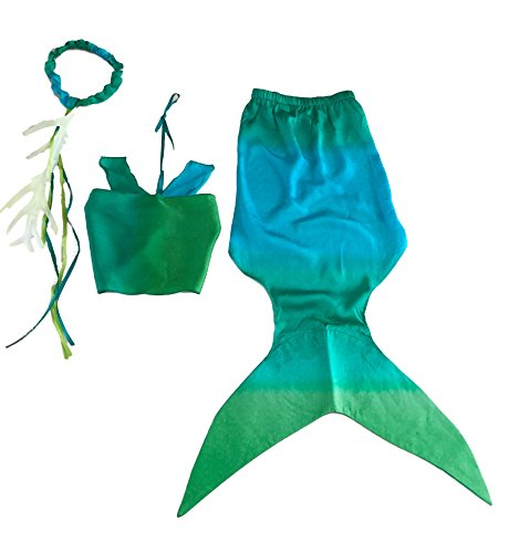 [Sarah's Silks Mermaid Costume (Small)] (Ariel Tail Costumes)