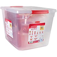 Rubbermaid 62-Piece Take Alongs Food Storage Set