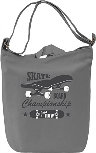 Skateboard championship Borsa Giornaliera Canvas Canvas Day Bag| 100% Premium Cotton Canvas| DTG Printing|