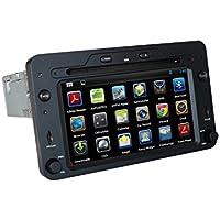 KUNFINE Android 7.1 Quad Core Car DVD GPS Navigation Multimedia Player Car Stereo For Alfa Romeo Spider/159/Brera/159 Sportwagon 2006 onwards Steering Wheel Control 3G Wifi Bluetooth Free Map
