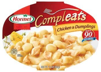 - Hormel Compleats Chicken and Dumplings 7.5 Oz (Pack of 6)