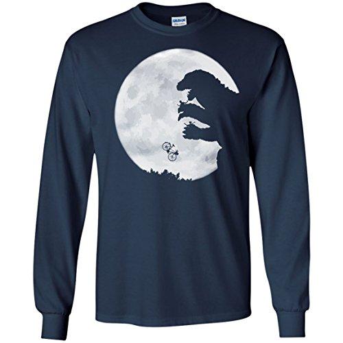 Adult Godzilla Hoodie (E.T. vs. Godzilla Hoodie Shirt Long Sleeve)