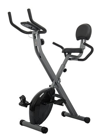 Indoor Cycle Bike Training Fitness Magnetic Exercise Bicycle (Black) Auwitt