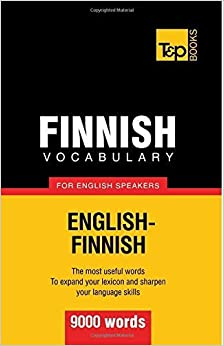 Finnish vocabulary for English speakers - 9000 words by Andrey Taranov (2012-10-01)