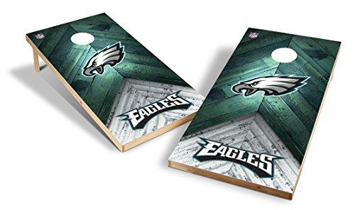 Wild Sports NFL 2'x4' Philadelphia Eagles Cornhole Set