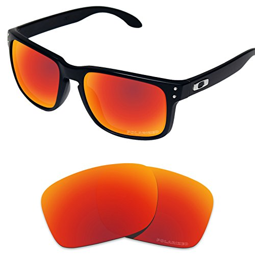 Tintart Performance Replacement Lenses for Oakley Holbrook Sunglass Polarized - Holbrook Red