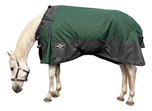 Colorado Saddlery The 18-1072 1200D Turnout Blanket, 72