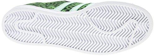 Adidas Superstar Gid - F37671 Bianco-nero-verde